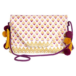 Envelope Bag Antik Batik X L'Occitane