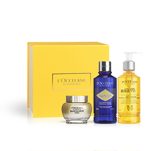 Giftset Immortelle Divine  | L'OCCITANE | Grand Cru