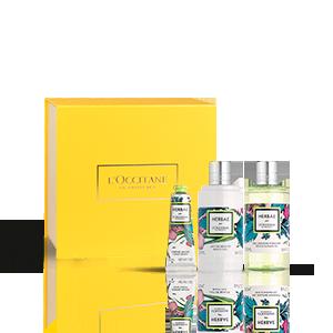 Giftset lichaamsverzorging Herbae par L'OCCITANE | L'OCCITANE