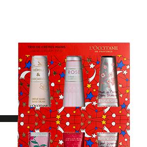 Kerst Floral Hand Cream Trio | L'OCCITANE