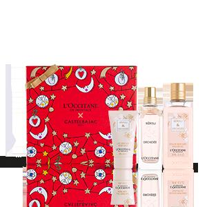 Néroli & Orchidée Kerst Giftset met Parfum | L'OCCITANE