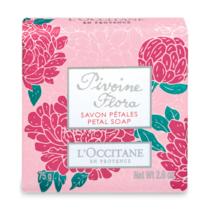 Pivoine Flora Flower Soap