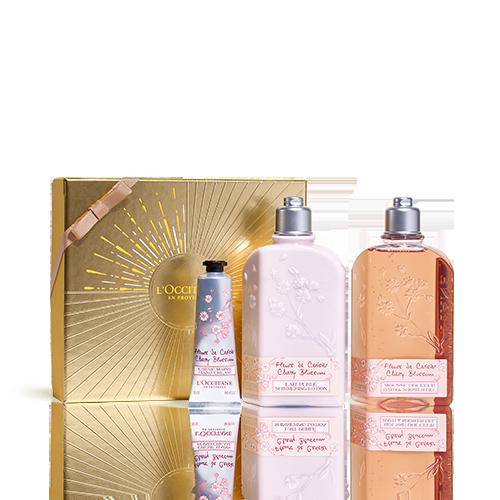 Cherry Blossom Bath Giftset