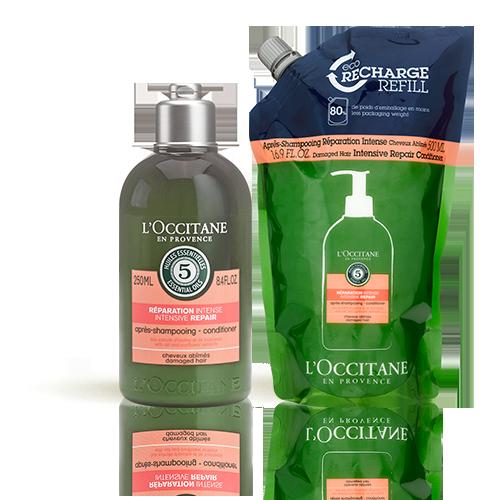 Duo intense repairing shampoo  Eco-refill