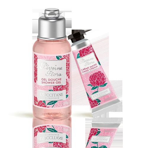 Pivoine Flora Duo