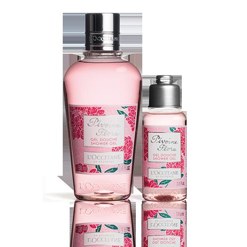Pivoine Flora Shower Duo