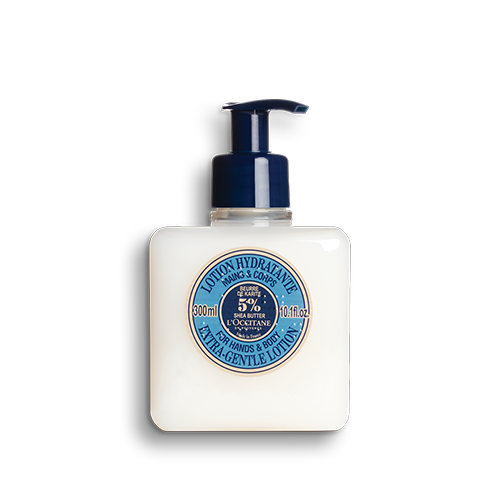 Shea Butter Extra-Gentle Lotion for Hands & Body 300 ml