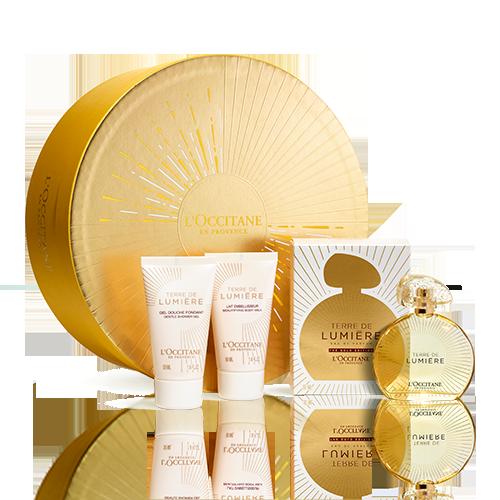 Terre de Lumière Gold Edition Perfume Giftset 50 ml
