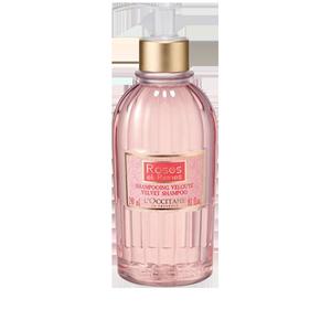 Aksamitny szampon Róza