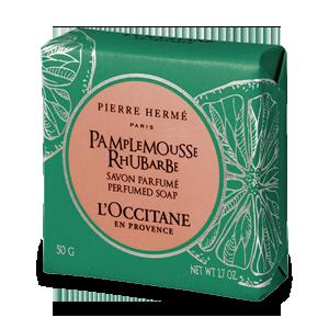 Perfumowane mydło Grejpfrut Rabarbar