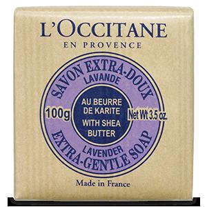 Delikatne mydło masło shea - Lawenda