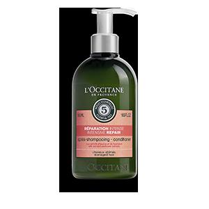 Odbudowująca odżywka do włosów suchych i zniszczonych Aromakologia - nowa formuła