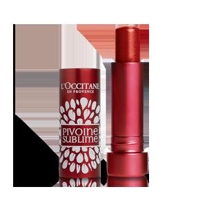 Upiększający balsam koloryzujący do ust Peonia Tender Red
