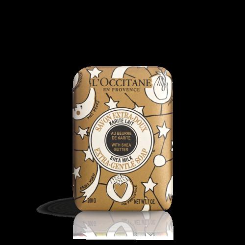 Delikatne mydło Masło Shea Mleko - edycja limitowana