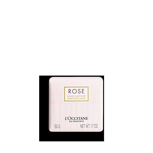 Delikatne mydło Róża
