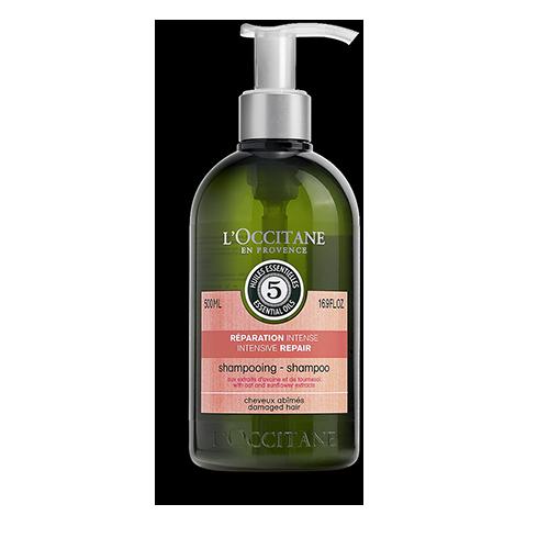Odbudowujący szampon do włosów suchych i zniszczonych