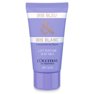 Leite Corporal Iris Azul & Iris Branca
