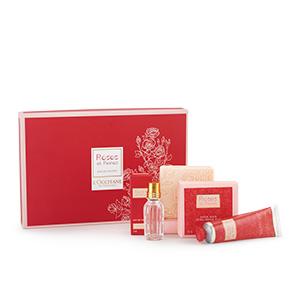 Presente Encantador Rosas