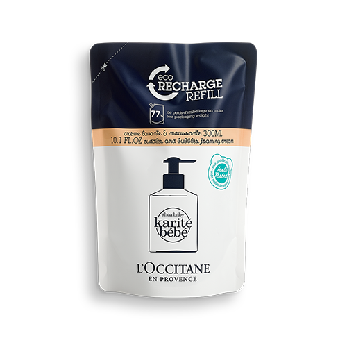 Eco-Refil Shampoo Corpo E Cabelo Karité Bebê