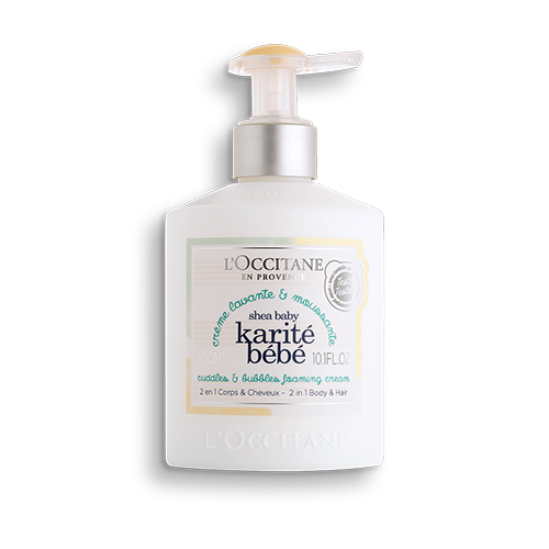 Shampoo Cabelo e Corpo Karité Bebê