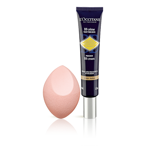 BB Creme Precioso Immortelle SPF 30 - Tez Escura + Esponja de Maquilhagem