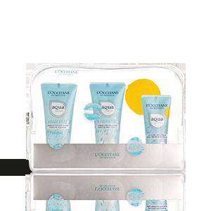 Bolsa de Viagem Hidratação Aqua Réotier - Gel| L'OCCITANE