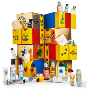 Calendário do Advento Premium – L'OCCITANE x Castelbajac