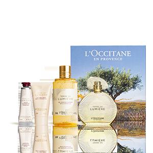 Coffret Eau de Parfum Terre de Lumière Or | Perfume mulher 90ml
