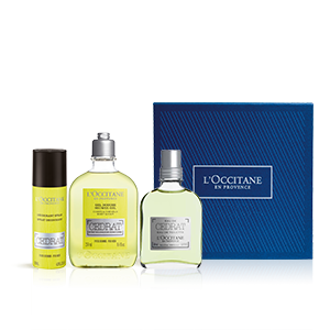 Coffret Perfume Cédrat | Perfume homem e cuidados de corpo