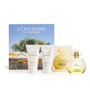 Coffret Perfume Terre de Lumière Or - L'OCCITANE