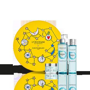 Coffret Presente Cuidados do Rosto Aqua Réotier   | L'OCCITANE