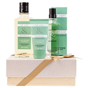 Coffret Presente Perfume Chá Verde & Laranja Amarga