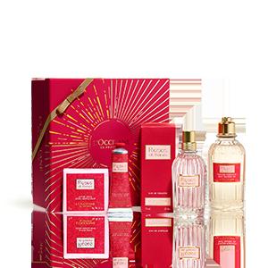 Coffret Presente Perfume Roses et Reines