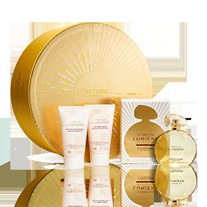 Coffret Presente Perfume Terre de Lumière Edição de Ouro 50 ml