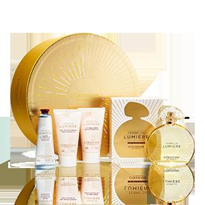 Coffret Presente Perfume Terre de Lumière Edição de Ouro 90 ml