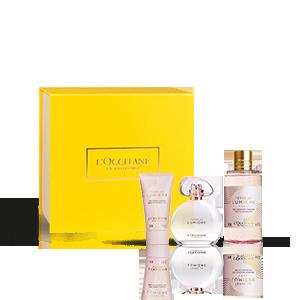 Coffret Presente Perfume Terre de Lumière L'Eau| L'OCCITANE