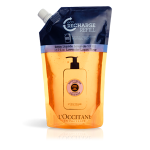Eco recarga Sabonete Liquido Lavanda