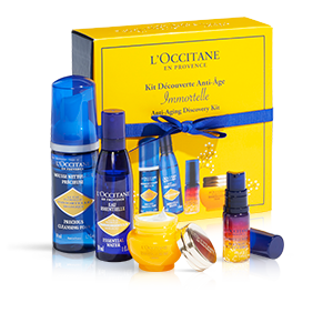 Kit anti-idade com óleo essencial de immortelle | L'OCCITANE
