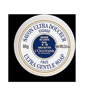 Sabonete de Rosto Ultra Rico de Manteiga de Karité