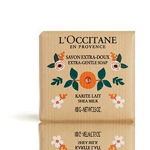 Sabonete Extra Suave de Leite Karité RSPO - L'OCCITANE