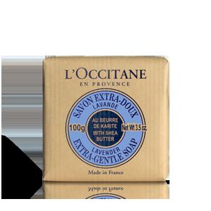 Sabonete Manteiga de Karité - Lavanda