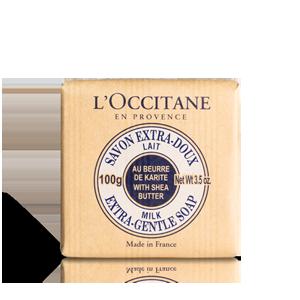 Sabonete Manteiga de Karité - Leite