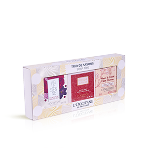 Trio de Sabonetes Perfumados| Cuidados para o corpo perfumados