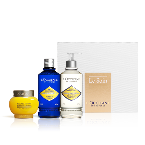 Coffret Immortelle Divino SPF