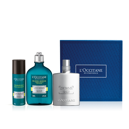 Coffret Perfume L'Homme Cologne Cédrat