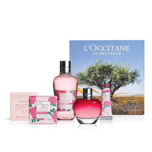 Coffret perfume Peonia Flora
