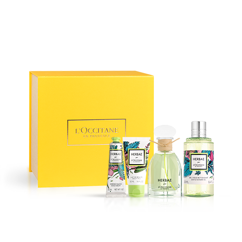 Coffret Presente Perfume Herbae par L'OCCITANE