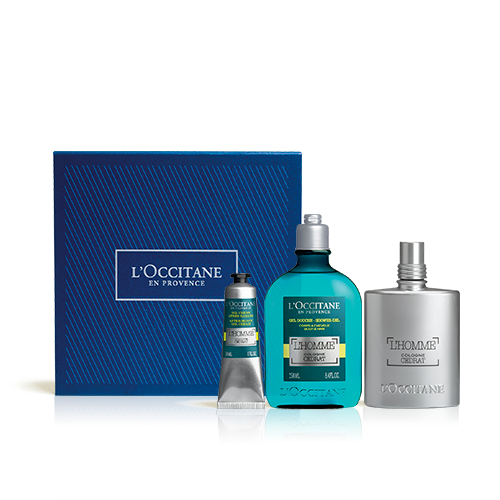 Coffret Presente Perfume L'Homme Cologne Cédrat