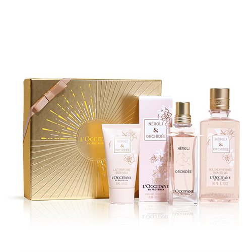 Coffret Presente Perfume Néroli Orquídea