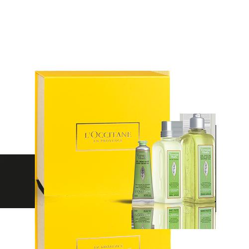 Coffret Presente Perfume Verbena Menta Edição Limitada